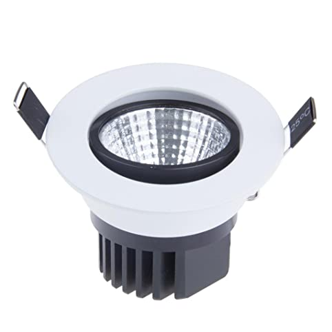 Lemonbest dimmable 5w cob led ceiling light downlight cool white lemonbest dimmable 5w cob led ceiling light downlight cool white spotlight lamp recessed lighting fixture sciox Gallery
