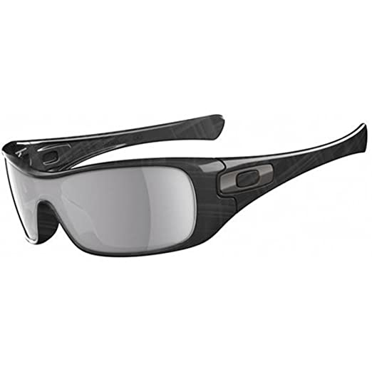 Amazon.com  Oakley Antix Sunglasses - Polarized Black Plaid W Grey ... d86d3f2bd800