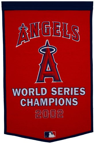 MLB Los Angeles Angels Dynasty Banner