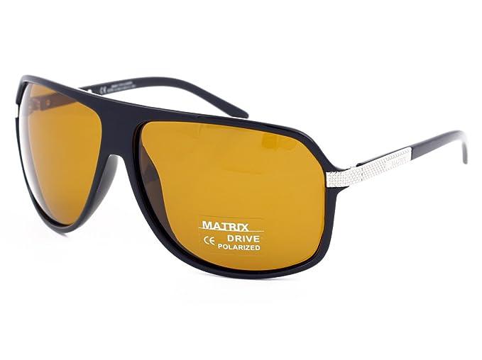 Matrix - Gafas de sol polarizadas estilo retro, para hombres, mujeres, día y