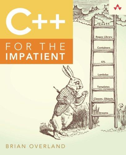 (C++ for the Impatient)