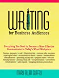 Writing for Business Audiences 9780324115987