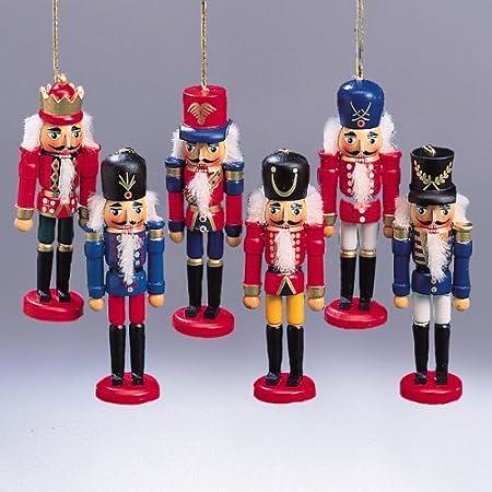 Kurt S. Adler Wooden Nutcracker Ornaments (Pack Of 36)