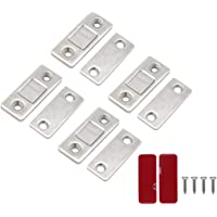 Cabinet Door Magnets Strong Magnet Catch Stainless Steel Drawer Magnetic Latch for Wardrobe Cabinet Sliding Door Closure…