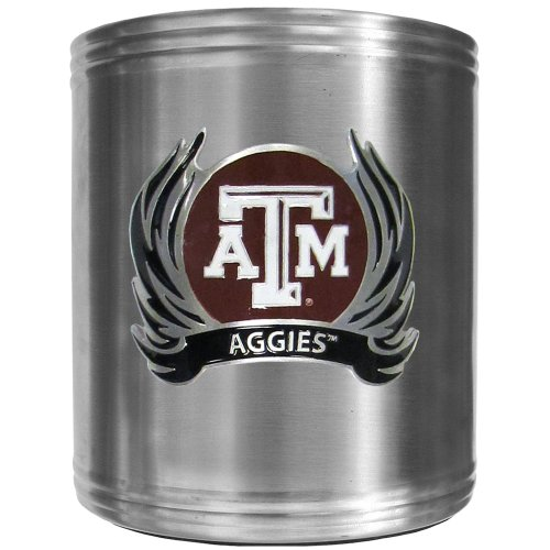 Siskiyou NCAA Texas A and M Aggies Tribal Flame Steel Can Cooler