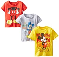 Disney Boys' Mickey Mouse 3-Pack Tees