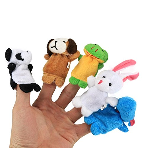 12pcs Novelty Animals Wooden Magnet Children Early Learning Toy - 7