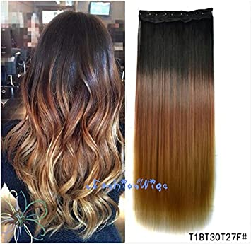 Amazon Com Black To Golden Brown To Strawberry Blonde Three Colors