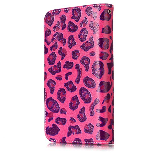 Fundas para iPhone 8 Plus, para iPhone 8 Plus Carcasa, Vandot Pintado PU Cuero TPU Interior Lindo Mariposa Girasol Flor Diseño Bookstyle Flip Case Cover Cajas de Teléfono Cáscara con Acollador Billete DKW 05