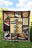 Piano Quilt Super King Size - Blankets King Queen