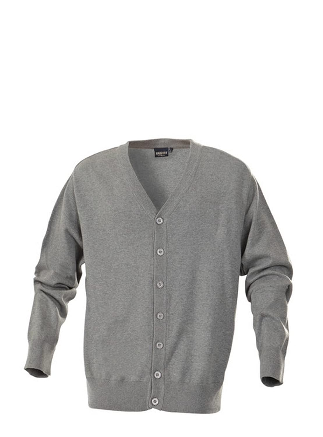 Harvest Knowville cardigan Grey Melange S