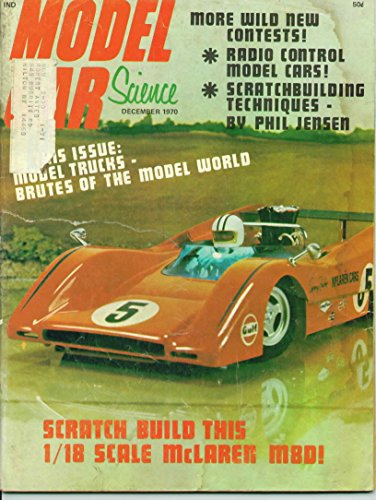 Model Car Science Magazine December 1970