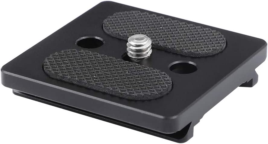 CAMVATE Montaje Deslizante de Placa de liberación rápida para Jaula de cámara DSLR Compatible con CARCA Swiss