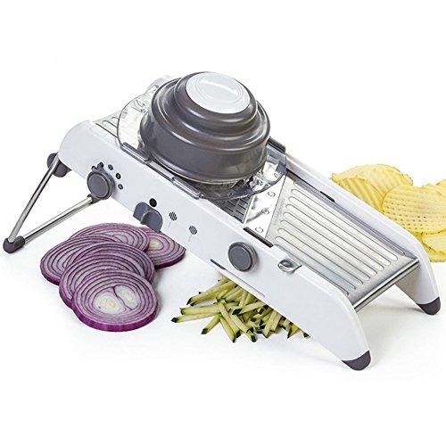 Taloyer Stainless Steel Multi-functional Chopper Cut Vegetable Potato Food Scissor Tools by Taloyer (Image #4)