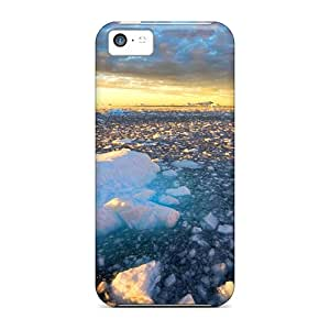 Protection Case For Iphone 5c / Case Cover For Iphone(golden Ice)