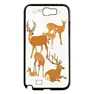 JenneySt Phone CaseAnimal Deer For Samsung Galaxy Note 2 Case -CASE-9