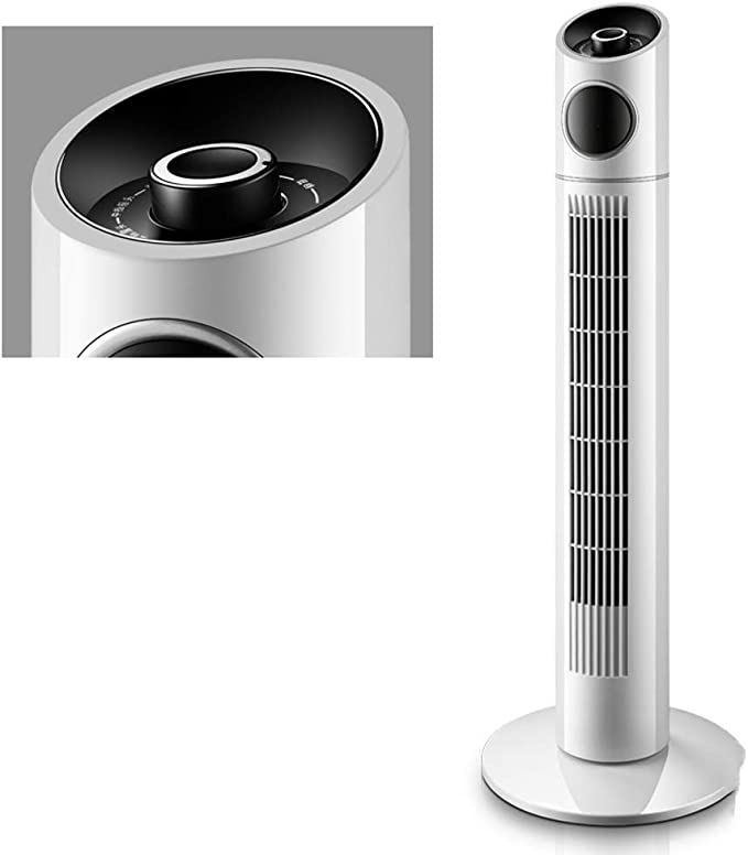 JIANXIN Oscilante Ventilador Torre, 3 Velocidades,Silencioso Y con ...