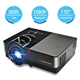 Zeacool Mini Video Projector, Portable Movie Projector with 170