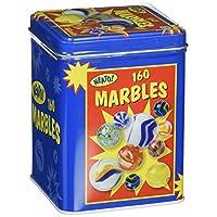 Toysmith canicas en una caja de lata