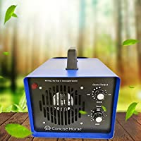 Sanqiao Professional Grade Ozone Generator Air Purifier Ionizer & Deodorizer with UV Sterilizer and 2 Ceramic Ozone Plates