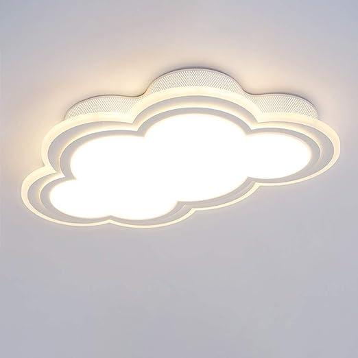 JINWELL Plafón de nubes ultrafino LED Luz de techo Lámpara de ...
