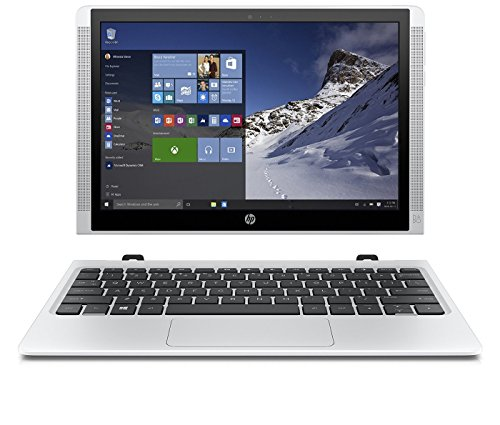 HP Pavilion x2 10-n200nf PC portable Hybride Tactile 10.1 Blanc (Intel Atom 2 Go de RAM SSD 32 Go Windows 10)