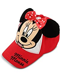 Toddler Girls Minnie Mouse Bowtique Cotton Baseball Cap,...