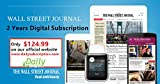 Wall Street Journal 2 Years Digital Subscription (Start In 24 Hours)