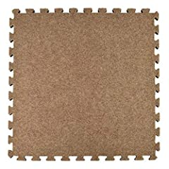 Select Greatmats Interlocking Carpet Tiles with Foam Cushion Backing, 2x2 Ft x 5/8 Inch, Padded Waterproof Carpet Tiles pack for high-quality, interlocking carpet tiles. These carpet tiles can be used for residential or commercial application...