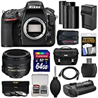 Nikon D810 Digital SLR Camera Body with 50mm f/1.4 Lens + 64GB Card + 2 Batteries + Charger + Case + GPS Adapter + Grip + Kit Review Review Image