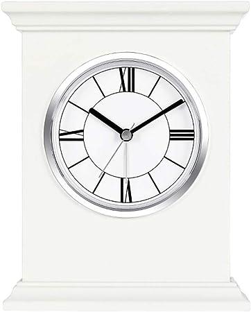 Jardín Reloj Soporte Reloj Elegante Reloj de Cuarzo de madera-JBP21,B: Amazon.es: Hogar