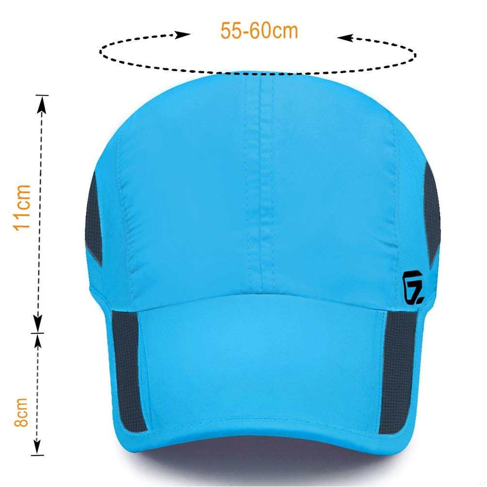 Classic UP GADIEMENSS Quick Dry Sports Hat Lightweight Breathable Soft Outdoor Running cap