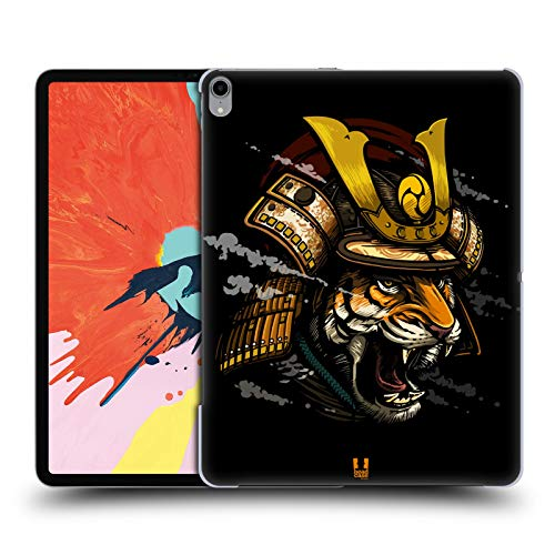 Head Case Designs Shogun Warriors from The Wild Hard Back Case Compatible for iPad Pro 12.9 (2018)