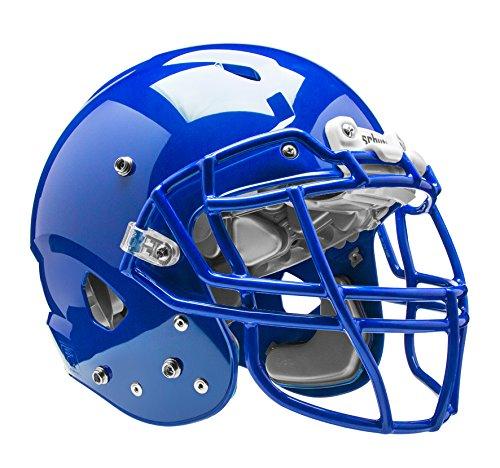 (Schutt Sports Vengeance VTD II Football Helmet Without Faceguard, Royal Blue, Medium)