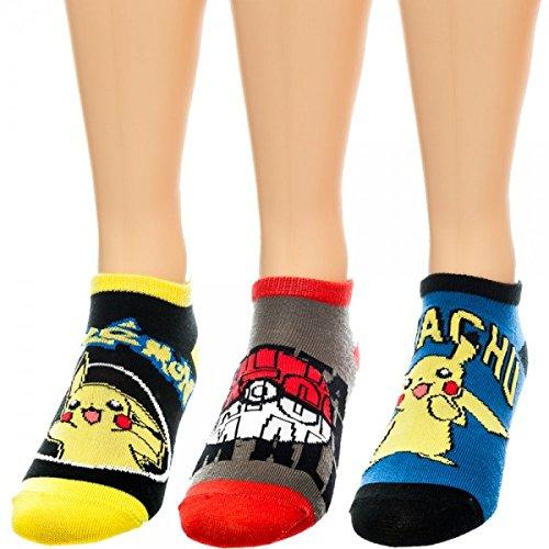 Pokemon Cheville Sock Lot de 3 jouets Anime nouveaux cadeaux officiels As1s24pok