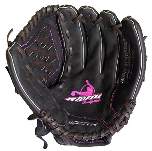 Worth Storm Series STM115BRP eleven.5″ Brown Youth Fastpitch Softball Glove – DiZiSports Store