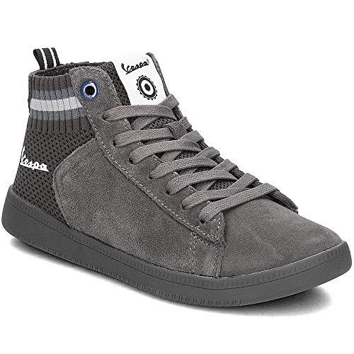 – A Unisex Nearly Wave New Alto Adulto Vespa Black Sneaker Collo aw0tYYUn
