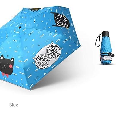 LDCP Pintado a Mano Impresión de Animales Paraguas Plegable ...