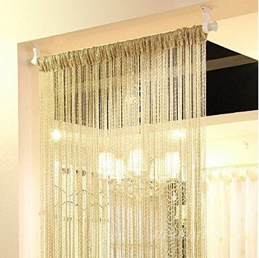 Amazoncom ave split Decorative Door String Curtain Wall Panel