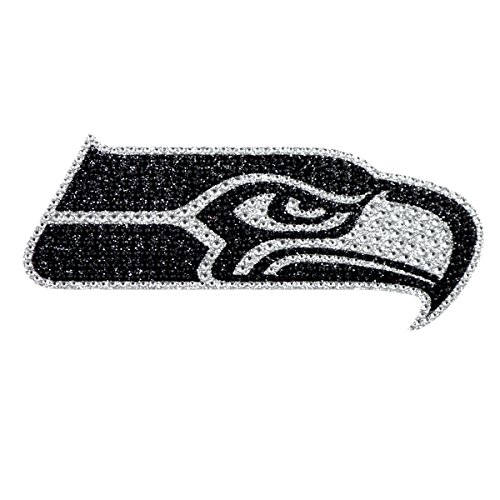 - Team ProMark NFL Seattle Seahawks Bling Emblem, 6.25-inches