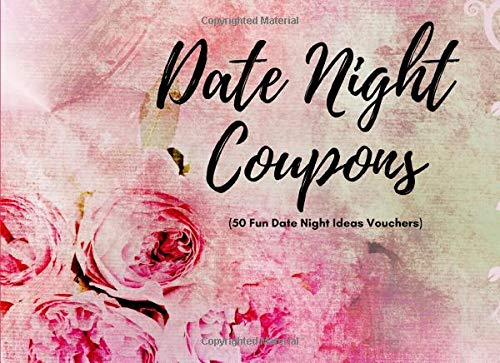 Pdf Self-Help Date Night Coupons ( 50 Fun Date Night Ideas Vouchers): 40 Pre-Filled, 10 Blanks | Fun Gift For Married Couples To Make A Game Of Their Date Night ... Great Anniversary Gift For Wife or Husband