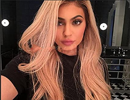 Amazon Com Kardashian Kylie Jenner Custom Lace Front Long Natural