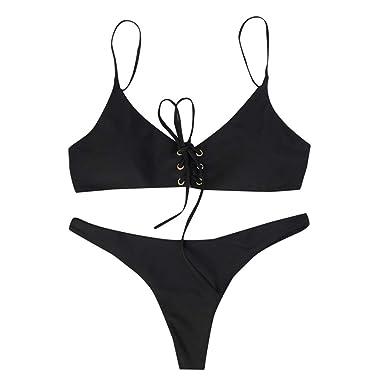 HCFKJ Traje De BañO Mujer Sexy Traje De BañO Bikini Traje De ...