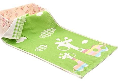 """Los niños dibujos animados suave algodón Toallas de mano gimnasio toallas de baño toallitas 9.84 """""""
