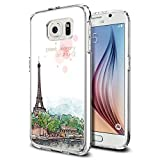 Galaxy S6 Case,Dseason Samsung Galaxy S6 Hard Case **NEW** High Quality Unique Design Protective sweet memory in paris