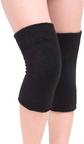 Knee Warmers Leg Warmers Wool Thermal Sleeve Knee Brace Support Protection Knee