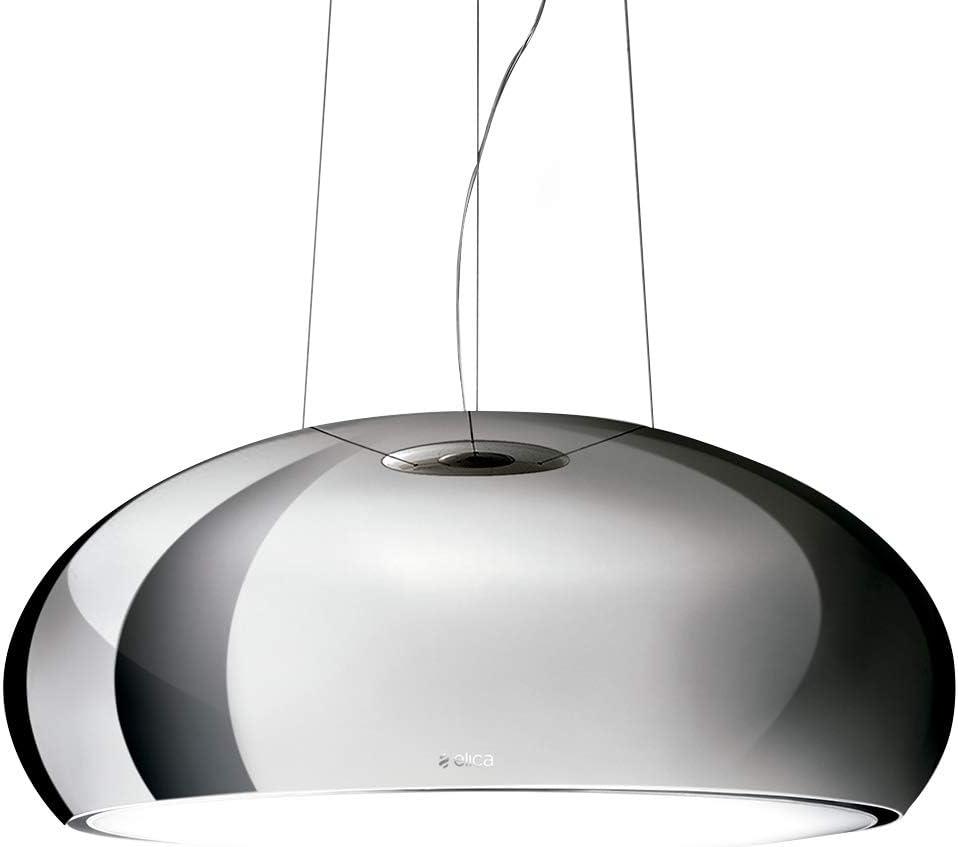 500/m/³//h, recirculating, 42/dB, 61/DB, 60/cm, 70/cm Elica Seashell IX//F//80/Decorative Stainless Steel 500/m/³//h/ /Bell