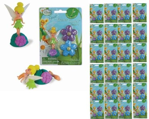 [Tinkerbell Puzzle erasers x 24 pack] (Tinkerbell Erasers)