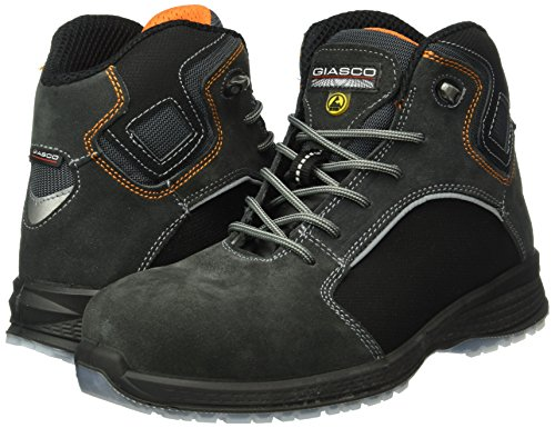 giasco schnürstiefel Snowboard S3, tamaño 47, 1pieza, gris/negro, ku167t47 gris-negro