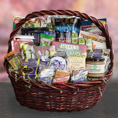Deluxe Support Staff Healthy Thank You Gift Basket for Administrative Professional's Day by Well Baskets